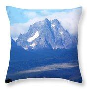 Mount Kenya Throw Pillow