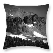 Mount Lassen Throw Pillow