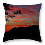 Mount Lee  Throw Pillow
