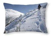 Mount Madison - White Mountains New Hampshire Usa Throw Pillow