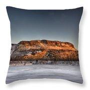 Mount Mckay Throw Pillow