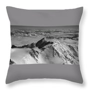 Mount Mckinley - The Great One Throw Pillow