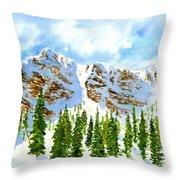 Mount Ogden Throw Pillow