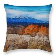 Mount Princeton Throw Pillow