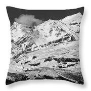 Mount Ruapehu Throw Pillow