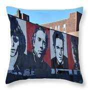 Mount Rush Core    Throw Pillow