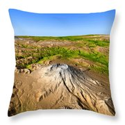 Mount Saint Helens Throw Pillow