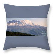Mount Saint Helens Spirit Throw Pillow