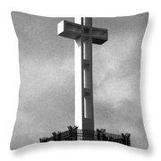 Mount Soledad Cross 2 Throw Pillow