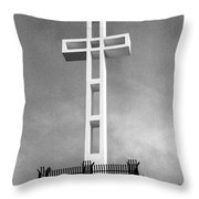Mount Soledad Cross Throw Pillow