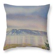 Mount Susitna Throw Pillow