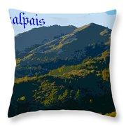 Mount Tamalpais 2013 Throw Pillow
