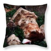 Mount Trashmore - Series Xi Throw Pillow