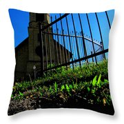 Mount Up Throw Pillow