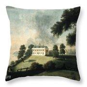 Mount Vernon, 1806 Throw Pillow