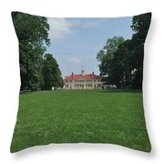 Mount Vernon In May Throw Pillow