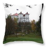 Mount Washington Hotel - Bretton Woods Throw Pillow
