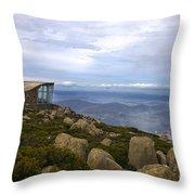 Mount Wellington Tasmania Throw Pillow