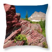Mount Wilbur Throw Pillow
