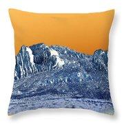 Mountain Abstract  Throw Pillow