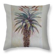 Mountain Aloe Throw Pillow