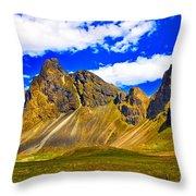 Mountain Crags Throw Pillow