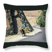 Mountain Life 7 Throw Pillow