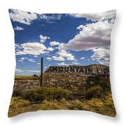 Mountain Lions Throw Pillow
