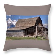 Mountain Living Throw Pillow