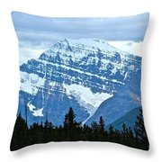 Mountain Meets The Sky Throw Pillow