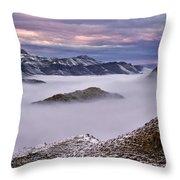 Mountain Moods Throw Pillow