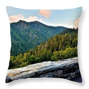 Mountain Overlook Throw Pillow