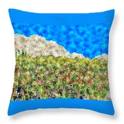 Mountain Park Throw Pillow