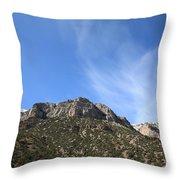 Mountain Range - Wyoming Throw Pillow