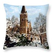 Mountain Sanctuary Throw Pillow