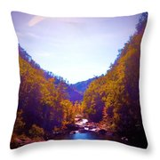 Mountain Solitude Throw Pillow