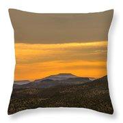 Mountain Sunrise 6-19-14 Throw Pillow