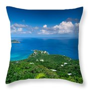 Mountain Top View II Throw Pillow