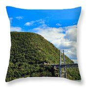 Mountain Tops Throw Pillow