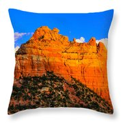 Mountain View Sedona Arizona Throw Pillow