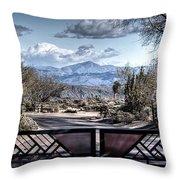 Mountainous Splendor Throw Pillow