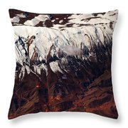 Mountains. Aerial. Beauty Of Our Planet Throw Pillow