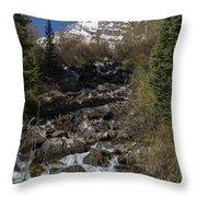Mountains Co Maroon Creek 2 Throw Pillow