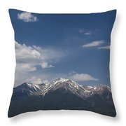 Mountains Co Mt Princeton 1 Throw Pillow