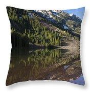 Mountains Co Pyramid 1 Throw Pillow