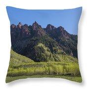 Mountains Co Sievers 2 A Throw Pillow