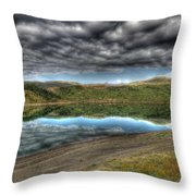 Mountains Of Serenity Throw Pillow