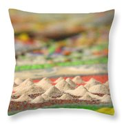 Mountains Of The Mind Throw Pillow