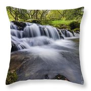 Mountian Water Throw Pillow