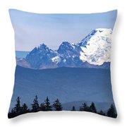 Mount Baker Throw Pillow